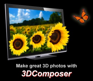 3DComposer - 3D photo creation software